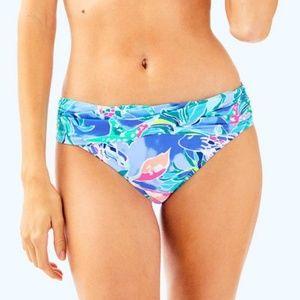 Lilly Pulitzer Lagoon Bikini Bottom - NWT